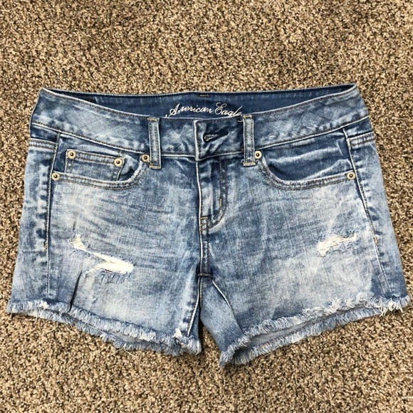American Eagle Outfitters Pants - American Eagle Distressed Jean Shorts
